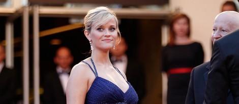 Reese Witherspoon presume de embarazo en el estreno de 'Mud' en el Festival de Cannes 2012