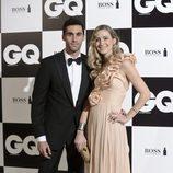 Álvaro Arbeloa y su mujer Carlota Ruiz