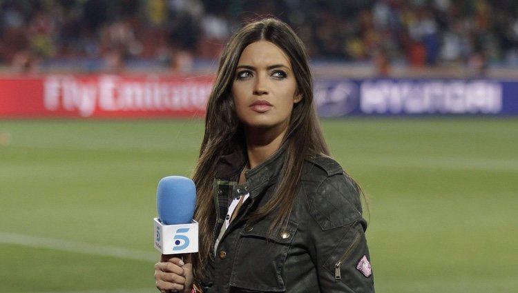 Sara Carbonero en el Mundial de Sudáfrica 2010