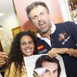 Noemí y Pepe Herrero ven la final de 'Gran Hermano 12+1' en un bar de Madrid