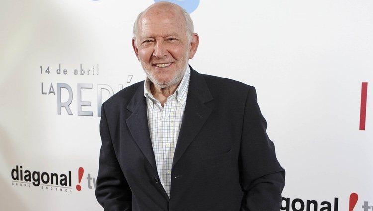 Álvaro de Luna en el estreno de '14 de abril. La República' e 'Isabel'