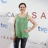 Carmen Gutiérrez en el estreno de '14 de abril. La República' e 'Isabel'