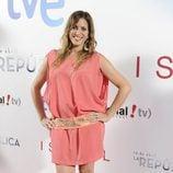 Lucía Jiménez en el estreno de '14 de abril. La República' e 'Isabel'