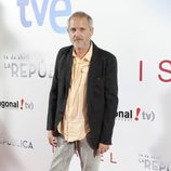 Jordi Rebellón en el estreno de '14 de abril. La República' e 'Isabel'