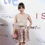 Verónica Sánchez en el estreno de '14 de abril. La República' e 'Isabel'