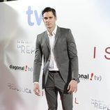 Sergio Mur en el estreno de '14 de abril. La República' e 'Isabel'