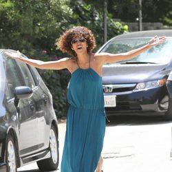 Halle Berry enfadada con la prensa