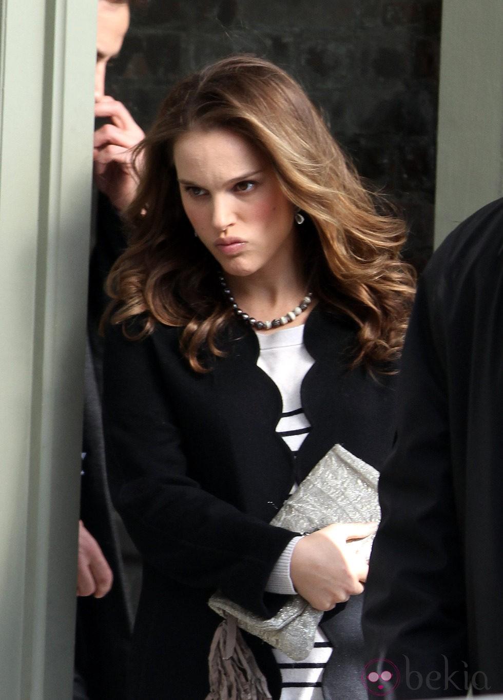 Natalie Portman muy enfadada
