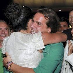Noemí y Pepe se abrazan tras ganar 'Gran Hermano 12+1'