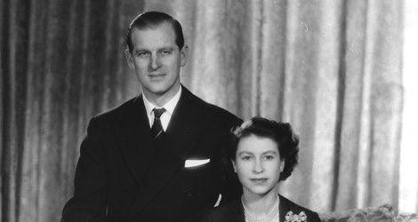 La Reina Isabel II y el Duque de Edimburgo en 1952