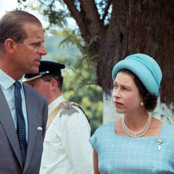 Isabel II y Felipe de Edimburgo en 1966