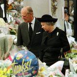 Isabel II y el Duque de Edimburgo en 1997