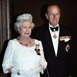 Isabel II de Inglaterra y el Duque de Edimburgo a Canadá en 2005
