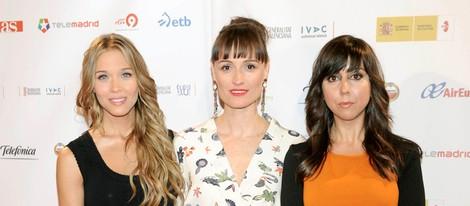 Patricia Montero, Laura Pamplona y Carmen Ruiz estrenan 'En fuera de juego'