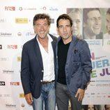 Francis Lorenzo en el estreno de la película 'En fuera de juego'