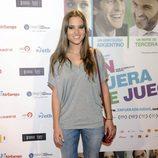 Ana Fernández en el estreno de la película 'En fuera de juego'
