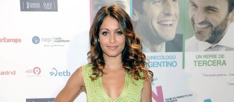 Hiba Abouk en el estreno de la película 'En fuera de juego'