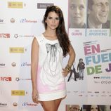 Ana Caldas en el estreno de la película 'En fuera de juego'