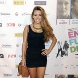 Sandra Cervera en el estreno de la película 'En fuera de juego'