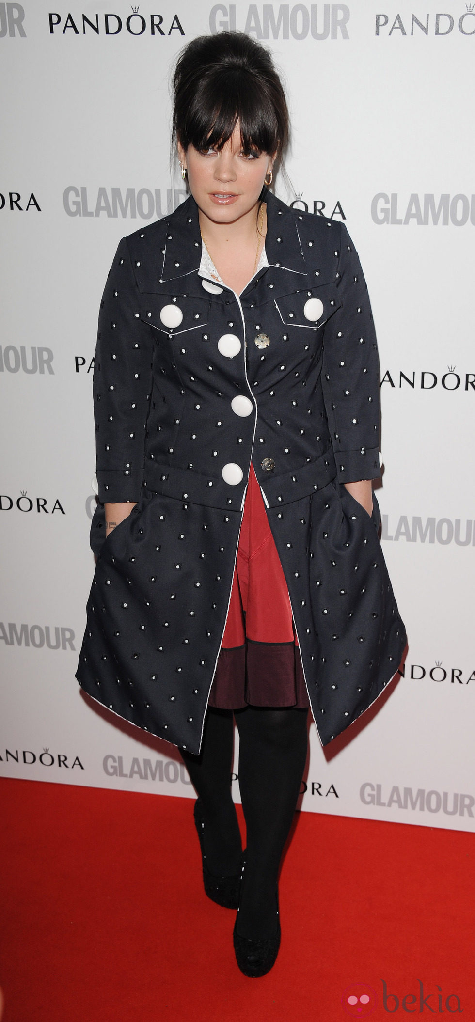 Lily Allen en los Glamour Women of the Year Awards 2012 de Londres