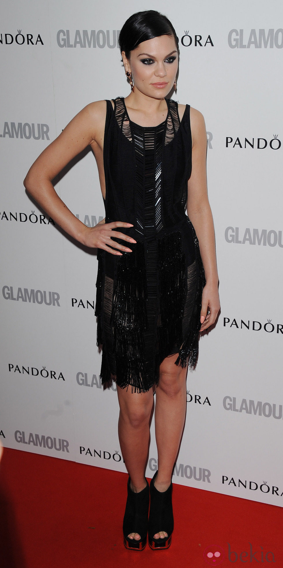 Jessie J en los Glamour Women of the Year Awards 2012 de Londres