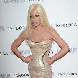 Donatella Versace en los Glamour Women of the Year Awards 2012 de Londres