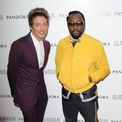 Tyler James y Will.I.Am en los Glamour Women of the Year Awards 2012 de Londres