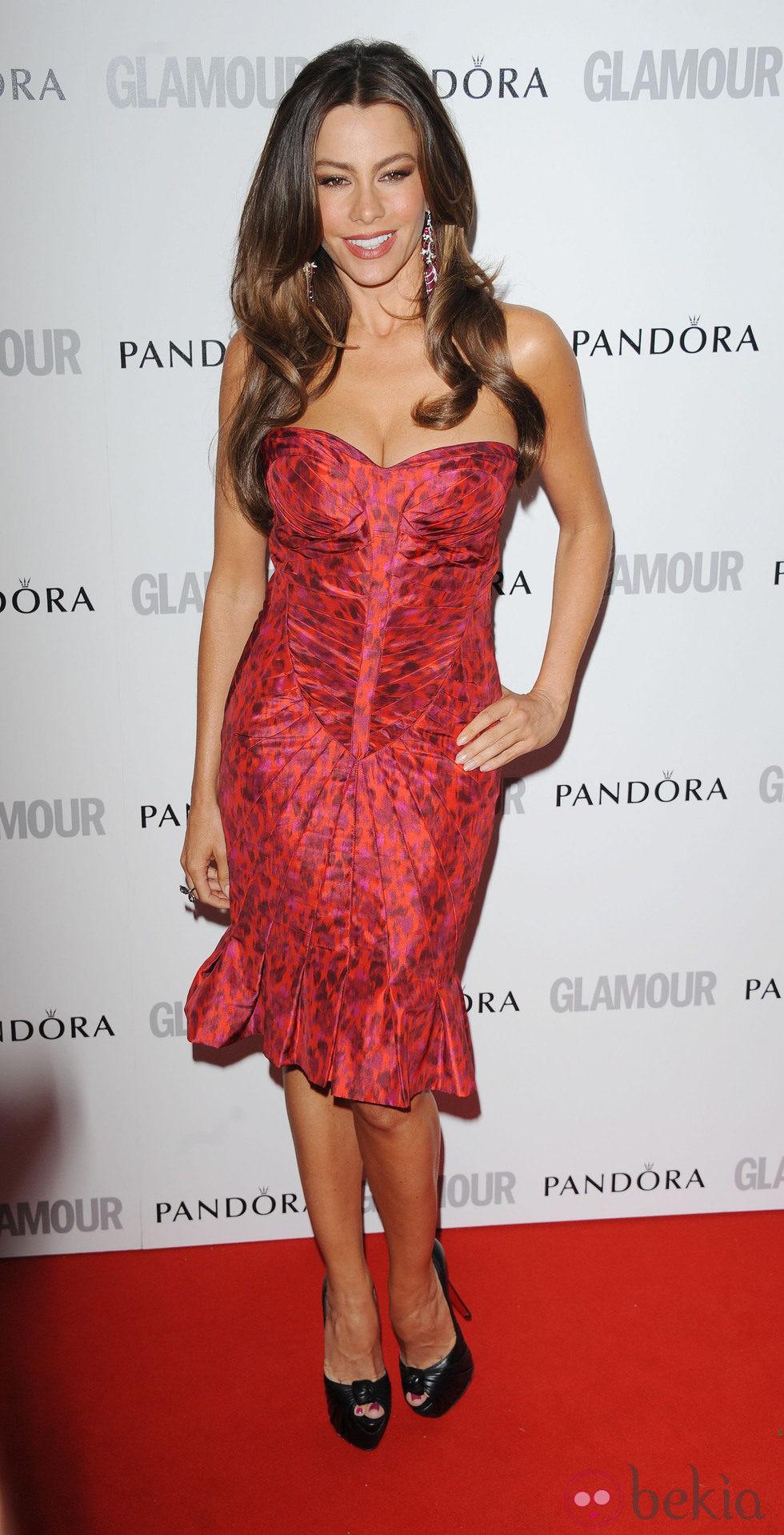 Sofia Vergara en los Glamour Women of the Year Awards 2012 de Londres