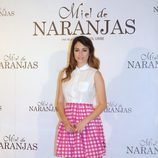 Blanca Suárez en la presentación de 'Miel de Naranjas'