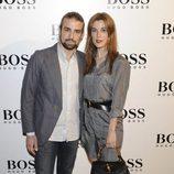 Raquel Sánchez Silva y Mario Biondo en la fiesta organizada por la firma Hugo Boss