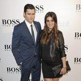 Olivia Molina y Sergio Mur en la fiesta organizada por la firma Hugo Boss