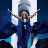 Kylie Minogue en una foto del libreto de su disco 'Aphrodite'