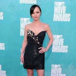 Christina Ricci en la alfombra roja de los MTV Movie Awards 2012