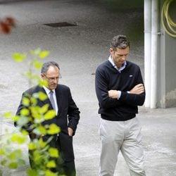 Iñaki Urdangarín y Mario Pascual Vives en Vitoria
