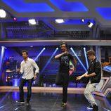 Justin Bieber bailando en 'el Hormiguero'
