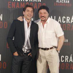 Carlos y Javier Bardem presentan en Madrid la película 'Alacrán enamorado'