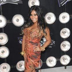Snooki en la fiesta de los MTV Awards