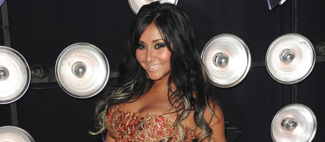 Snooki en la fiesta de los MTV Awards