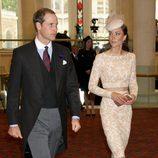 Los Duques de Cambridge en la recepción de Guildhall del Jubileo de Diamante