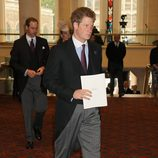 El Príncipe Harry en la recepción de Guildhall del Jubileo de Diamante