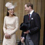 Los Duques de Cambridge en el almuerzo del Jubileo de Diamante en Westminster Hall