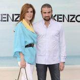 Raquel Sánchez Silva y Mario Biondo en la Kenzo Summer Party 2012