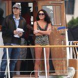 Lindsay Lohan en bañador rodando 'Liz and Dick'
