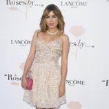 Adriana Ugarte en la presentación de la exposición fotográfica 'Roses by Lancôme'