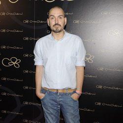 Juan Duyos en la inauguración de la tienda Cruciani en Madrid