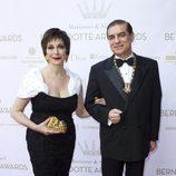 Los Príncipes Paul y Lia de Rumanía en los Premios Marianne & Sigvard Bernadotte