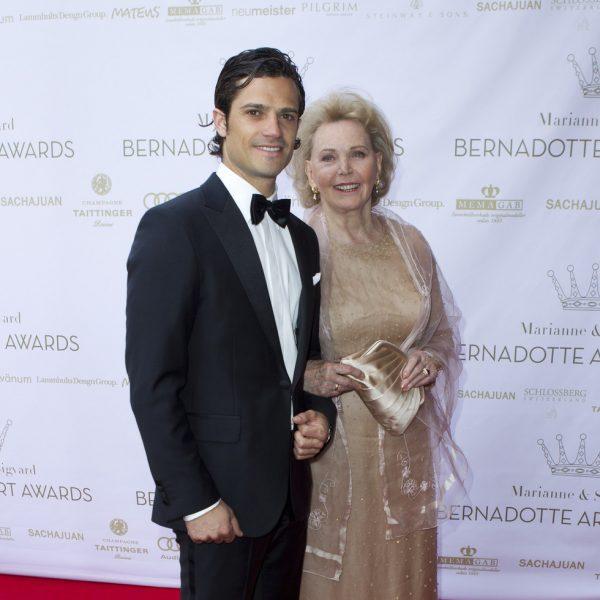 Realeza en los Premios Marianne & Sigvard Bernadotte