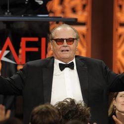 Jack Nicholson en la entrega del Life Achievement Award 2012