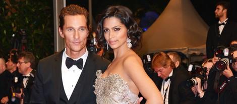Matthew McConaughey y Camila Alves en Cannes 2012