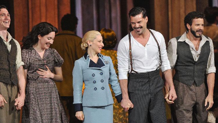 Ricky Martin en la gala de los Premios Tony 2012